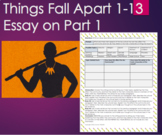 Things Fall Apart by Chinua Achebe Part 1/Chapter1-13 Writ