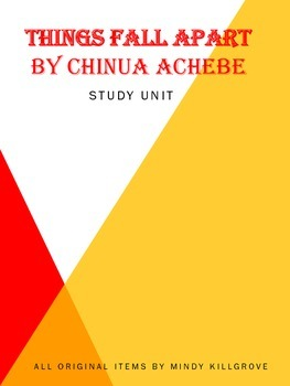 Things Fall Apart by Chinua Achebe Study Unit: Includes Jeopardy!