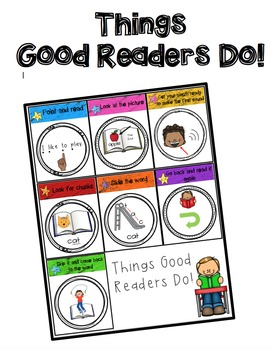 Things Good Readers Do