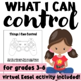 Things I Can Control: Video Game Themed Locus of Control Activity