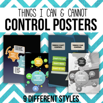 Things I Can and Cannot Control Poster