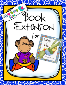 Things I Like Book Extension K-1