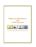 Things I am Thankful For with LAMP Sequences - WFL - AAC device