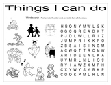 (Things I can do)