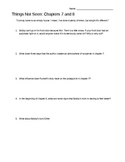 Things Not Seen by A. Clements: Study Guide and Assessment
