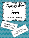 """""""Things Not Seen"""" by Andrew Clements Novel Study"""