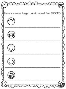 Things That BUG Me Worksheet Set