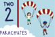 Number Recognition: Counting Things That Fly (1-10)