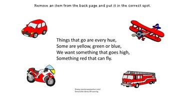 Things That Go: An Adapted Book on Transportation
