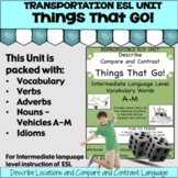 English as a Second Language ESL Vocabulary   ELD Activiti