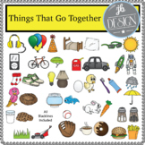 Things That Go Together (JB Design Clip Art for Personal or Commercial Use)