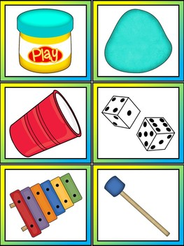 Things That Go Together Language Development Cards