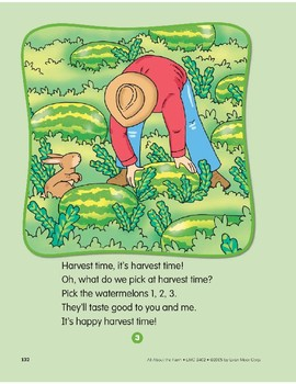 Things That Grow on the Farm: Circle-Time Book