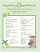 Things That Grow on the Farm: Outdoor and Dramatic Play Activities