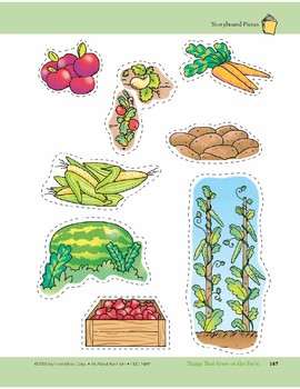 Things That Grow on the Farm: Storyboard Pieces