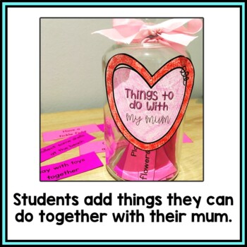 Things To Do With My Mum {Mother's Day Gift}