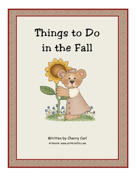 Things To Do in the Fall Read Aloud
