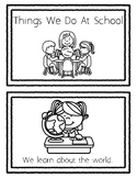 Things We Do At School Book