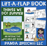 Things We Do! Summer: A Lift a Flap Book for Action Words