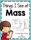Things We See at Mass Catholic Activity Set