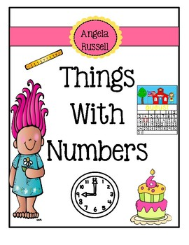 Things With Numbers ~ Emergent Reader