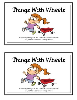 Things With Wheels Reproducible Guided Reader