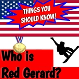 Things You Should Know:  Red Gerard and the 2018 Winter Olympics
