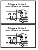 Things at School - Early Reader