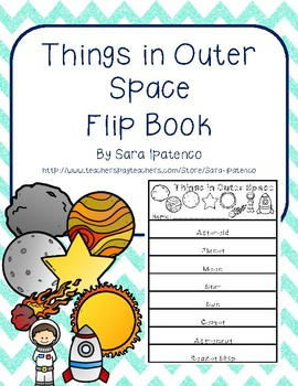 Things in Outer Space Flip Book