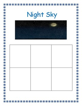 Things in the Day and Night Sky (Sorting Center Activity)