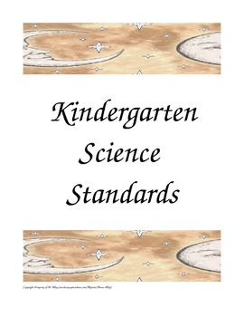 Science Standards Posters