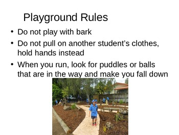 Things on the playground