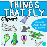 Things that Fly Clipart | Commercial Use