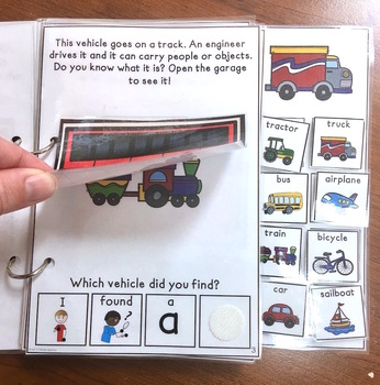 Things that Go! An interactive & adaptive book
