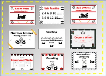 Things that Go Bundle (Math & Writing)
