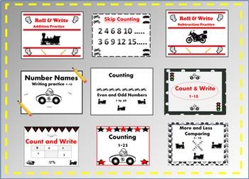 Things that Go Bundle (Math & Writing)
