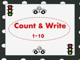 Things that Go- Count & Write 1-10