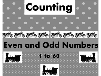 Things that Go- Even & Odd Numbers Counting