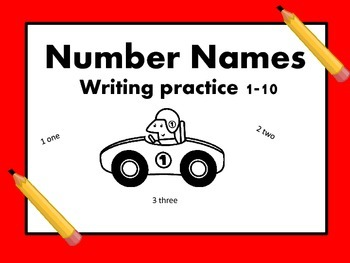 Things that Go- Number Names 1-10