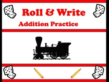Things that Go- Roll & Write Addition