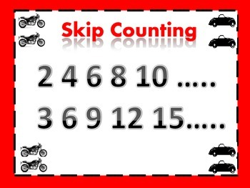 Things that Go- Skip Counting 1-60