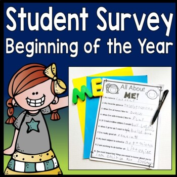 Student Survey: Beginning of Year Student Survey