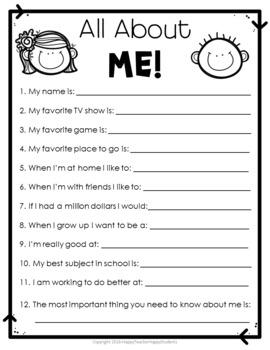 Student Survey: Beginning of Year Student Survey