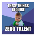 Things that Require Zero Talent Bulletin Board Set