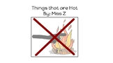 Things that are Hot-concept book