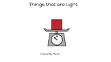 Things that are Light-concept book