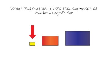 Things that are Small-Concept Book