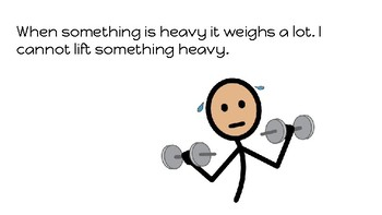 Things that are Heavy- concept book