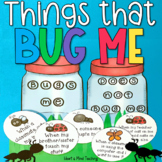 Things that bug me activity for Anger Management