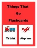 Things that go Flashcards